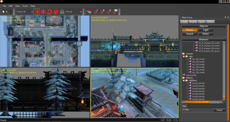 簡單游戲引擎的設計和開發